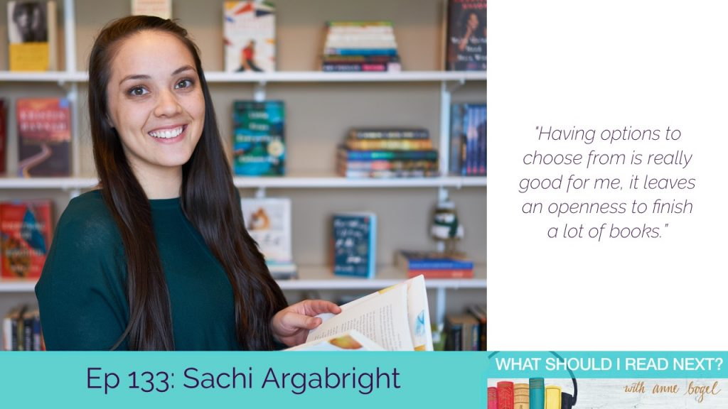 What Should I Read Next #133: Authors who get where you're coming from with Sachi Argabright