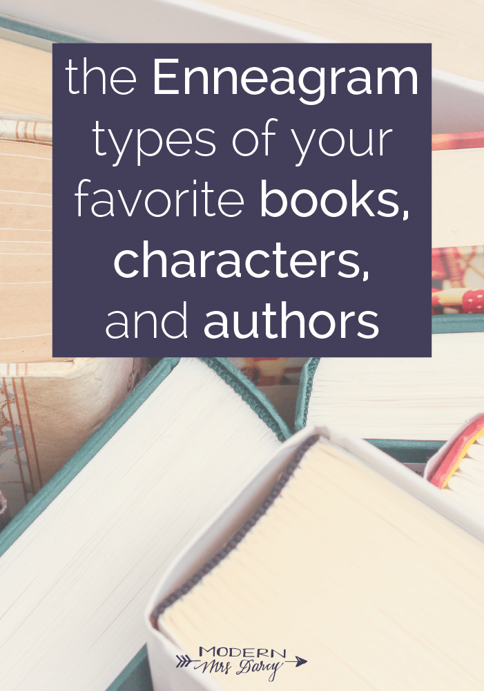 The Enneagram types of your favorite books, characters, and authors