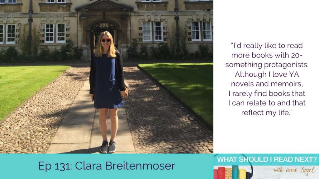 What Should I Read Next #131: Living in the land of Jane Austen with Clara Breitenmoser