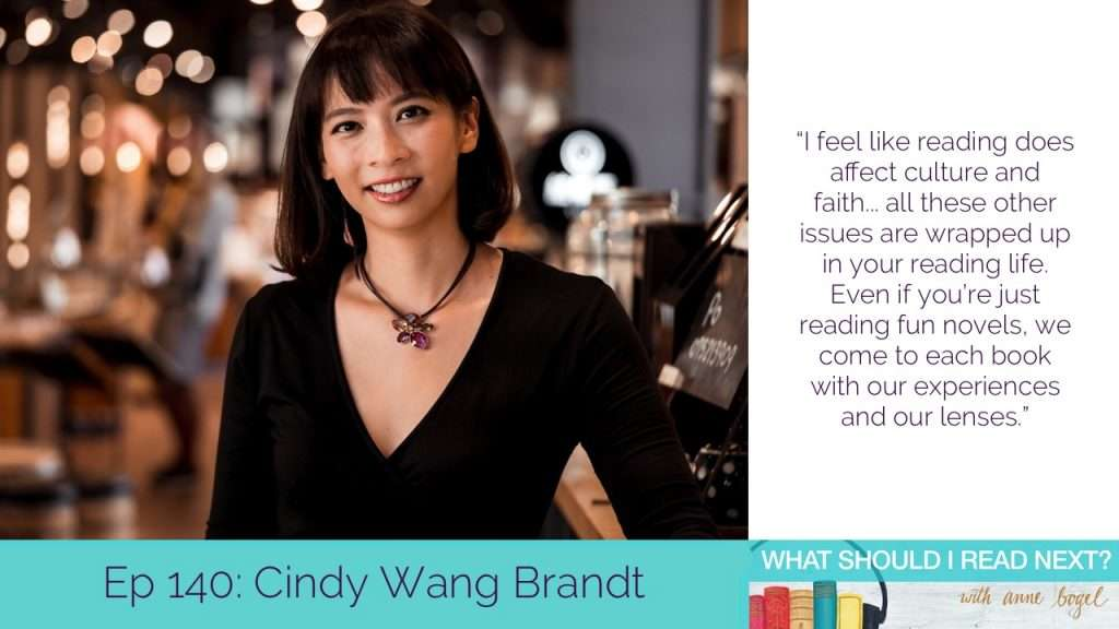 What Should I Read Next #140: What IS literary fiction, anyway? with Cindy Wang Brandt