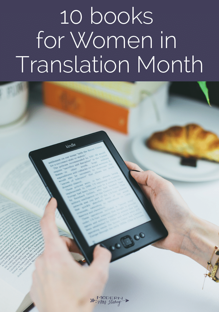 10 books in translation for Women in Translation month