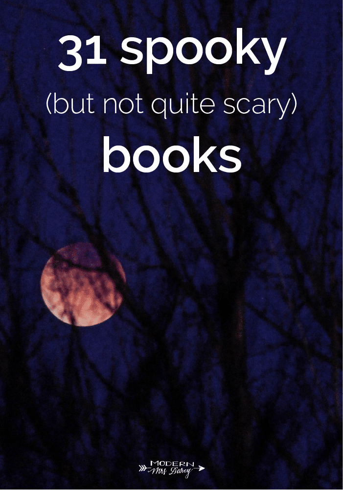 31 spooky books
