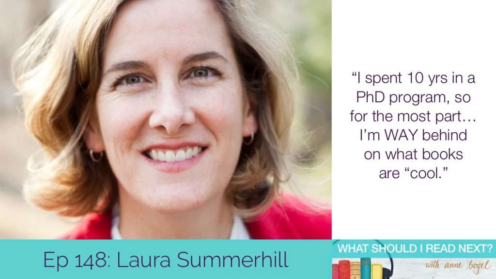 What Should I Read Next #148: Rebuilding your life (and your library) with Laura Summerhill