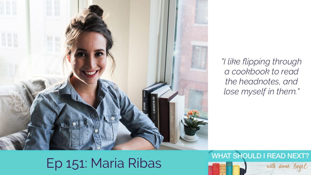 What Should I Read Next #151: Knockout books for a recovering completionist with Maria Ribas