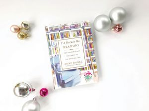 I'd Rather Be Reading, a great stocking stuffer idea for the reader in your life.