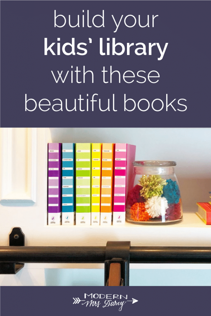 build your kids library beautiful books series
