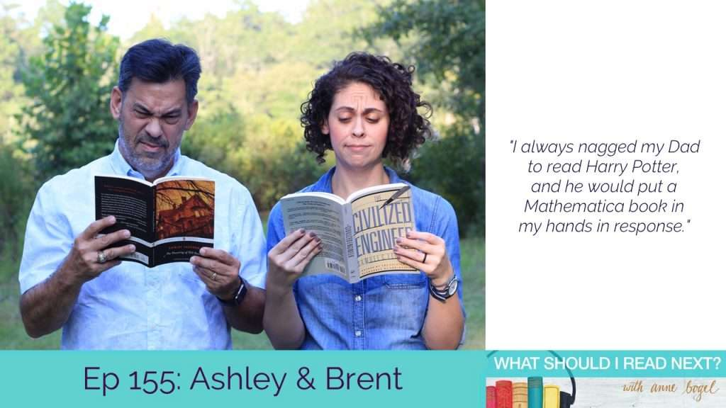 What Should I Read Next #155: When stolen audible credits spur a beautiful bookish relationship with Ashley and Brent