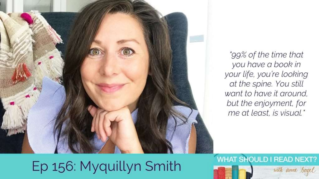 What Should I Read Next #156: Expert tips for a pretty, peaceful, practical bookshelf with Myquillyn Smith