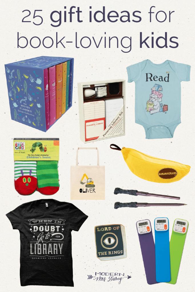 gift guide for book loving kids