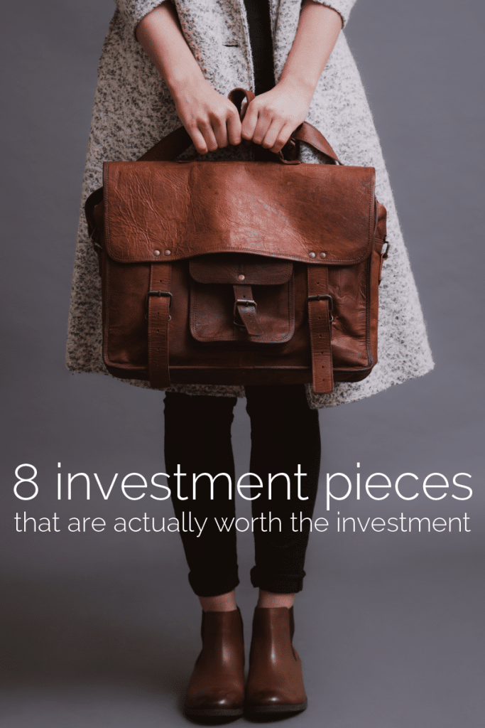 investment pieces fashion