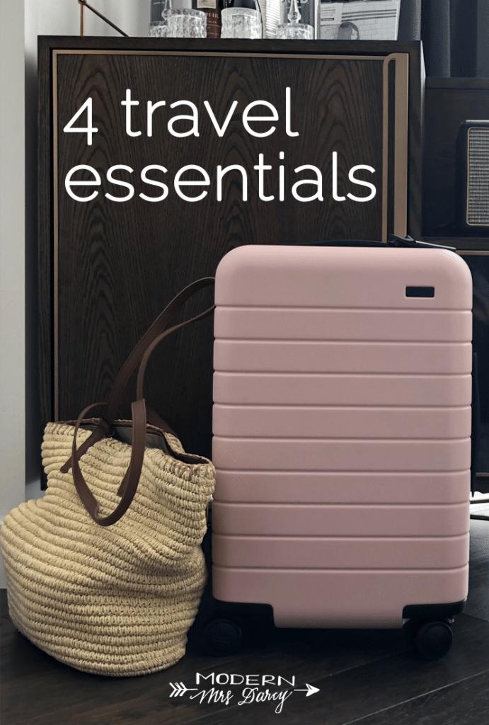 4 travel essentials that make life easier