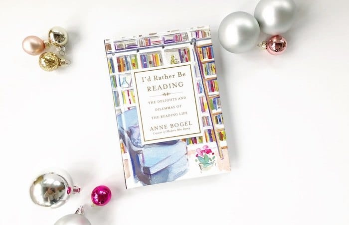 Id Rather Be Reading ornaments gift