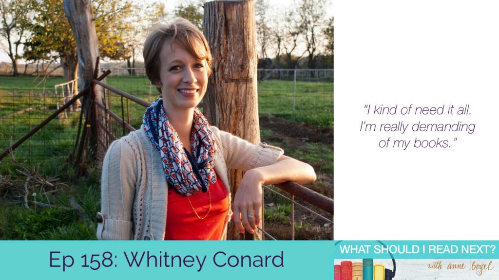 What Should I Read Next #158: The life-changing magic of clearing your unread shelf with Whitney Conard