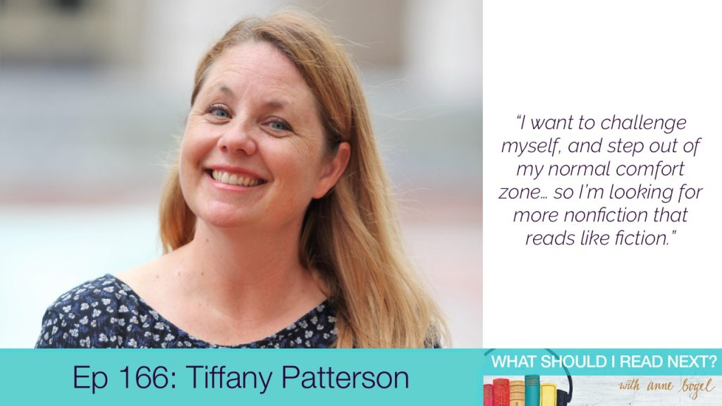 What Should I Read Next #166: Just don't call it a book club with Tiffany Patterson