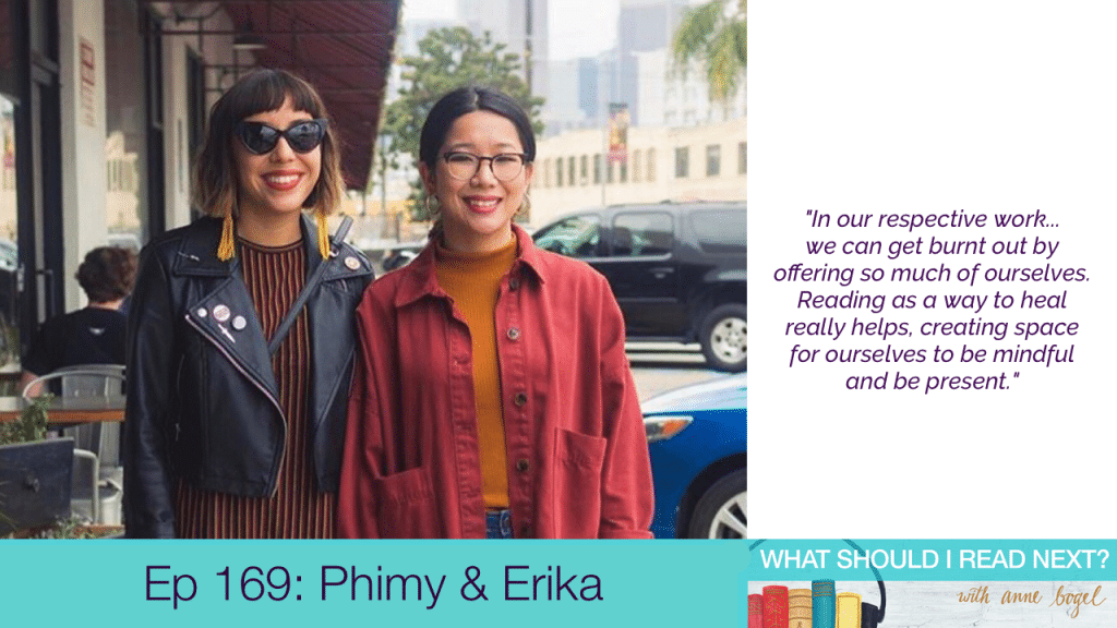 What Should I Read Next #169: Books that mess you up in all the right ways with Phimy Truong and Erika ThiBenjamin
