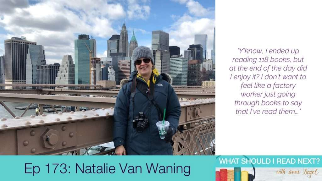 What Should I Read Next #173: Clocking in at the reading factory with Natalie Van Waning