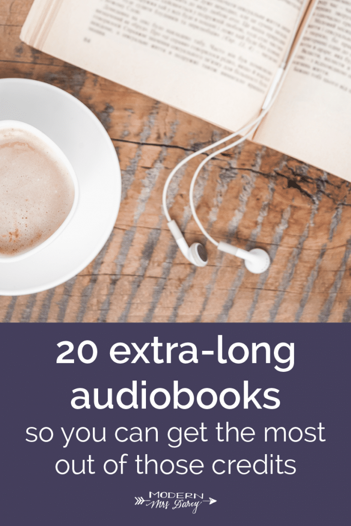 20 extra-long audiobooks so you can get the most out of