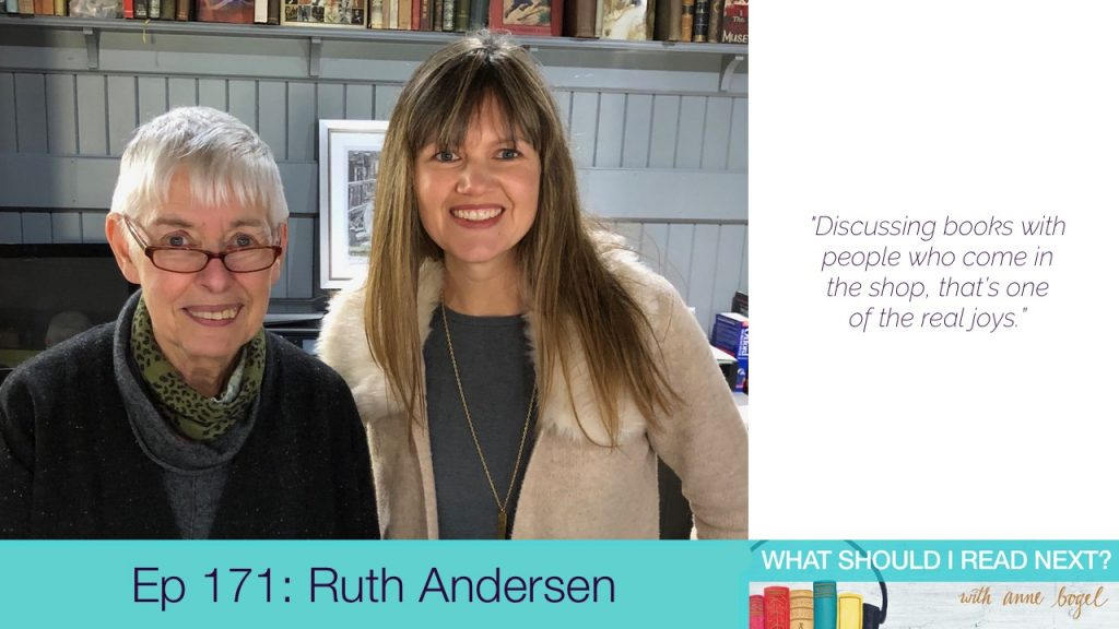 What Should I Read Next #171: A podcaster, a barrister, and a joiner walk into a bookstore with Ruth Andersen