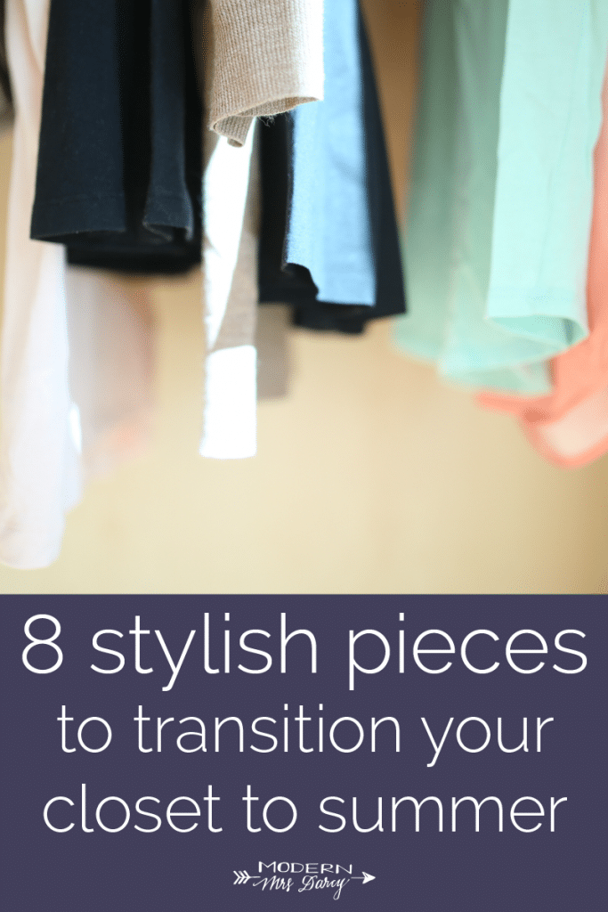 8 stylish pieces to transition your closet to summer