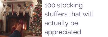100 stocking stuffers that will actually be appreciated