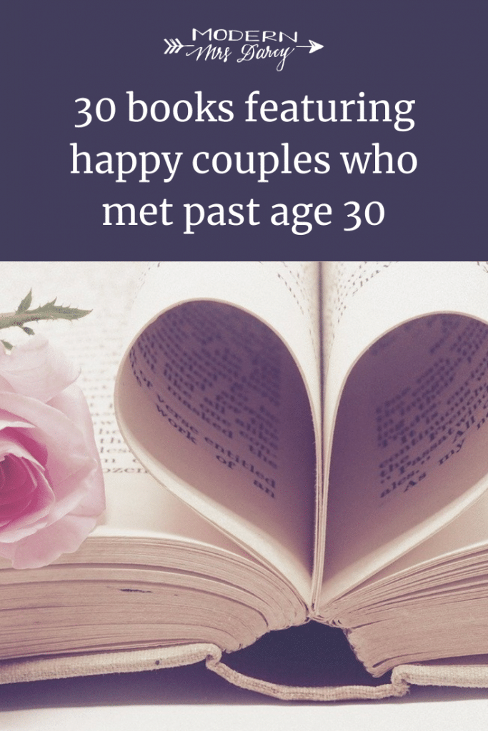 30 books featuring happy couples who met past age 30