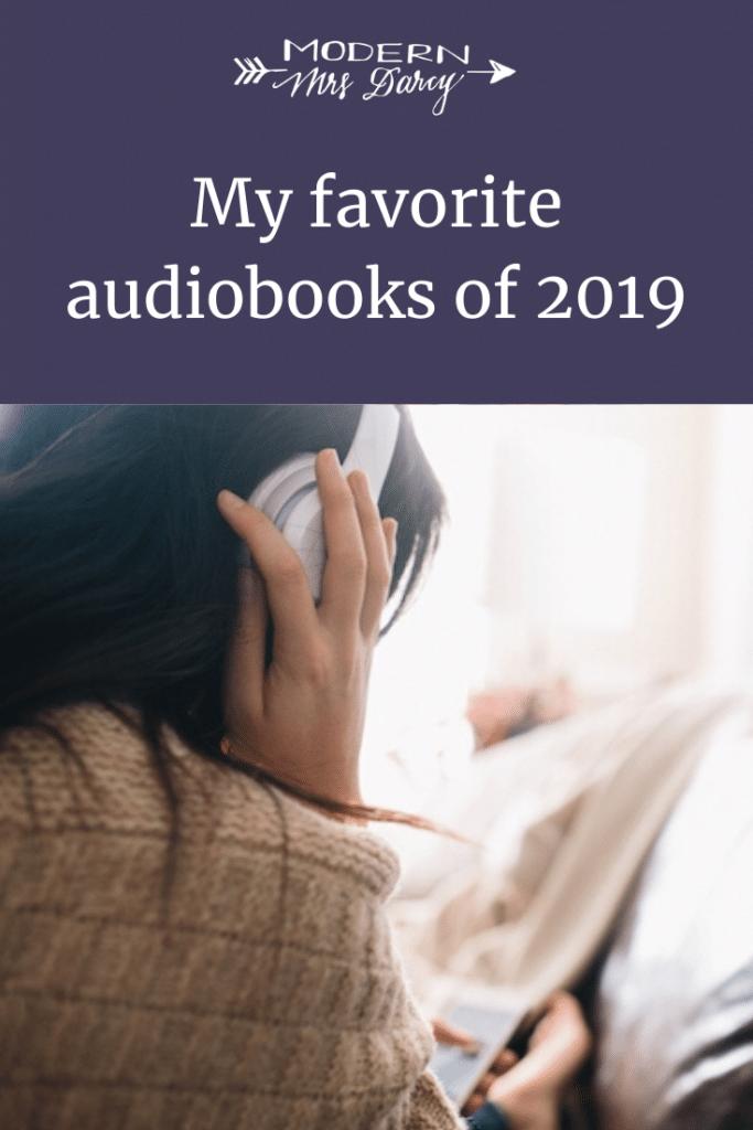My favorite audiobooks of 2019