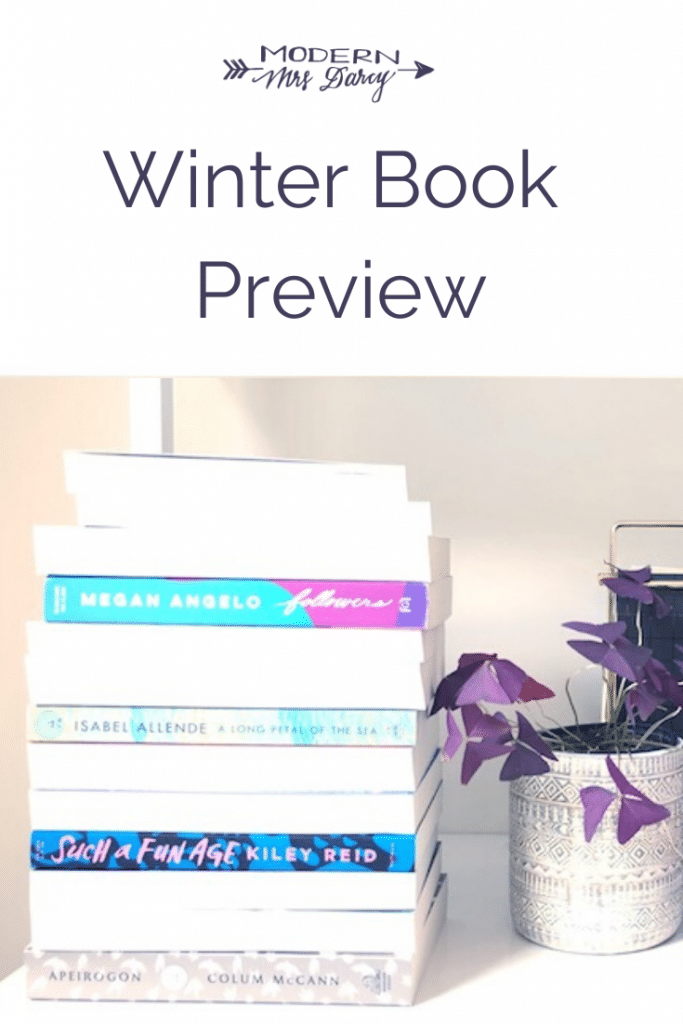 Winter Book Preview | Modern Mrs Darcy