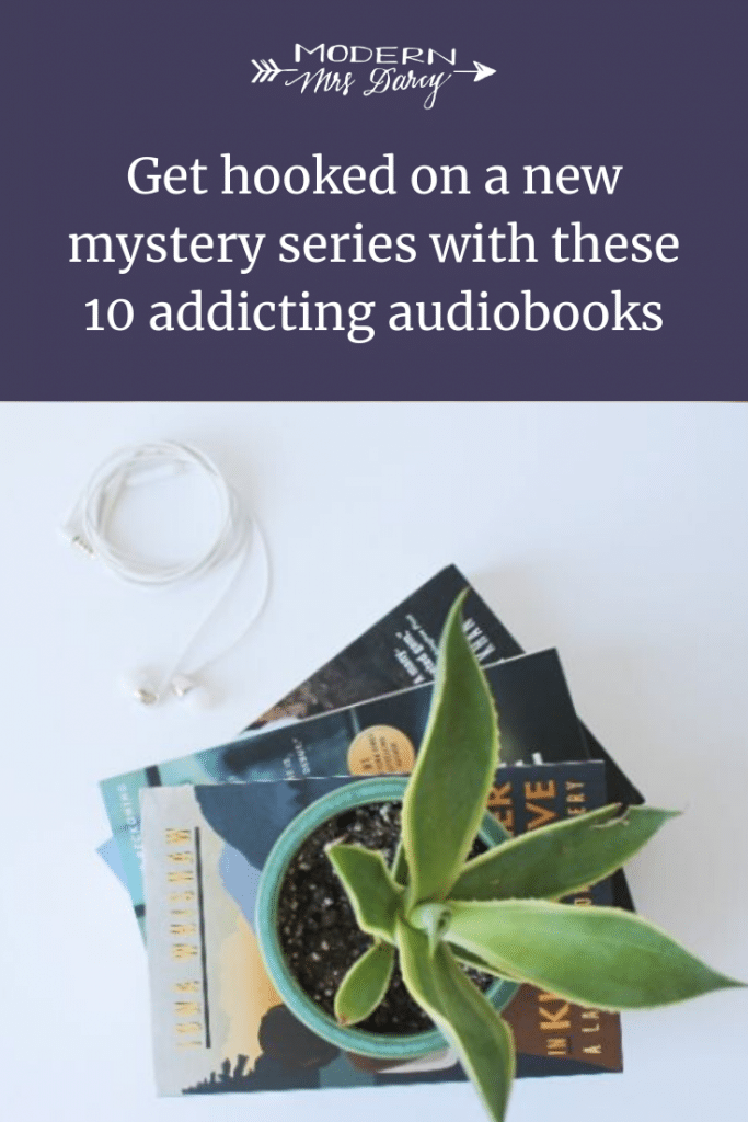 Get hooked on a new mystery series with these 10 addicting audiobooks