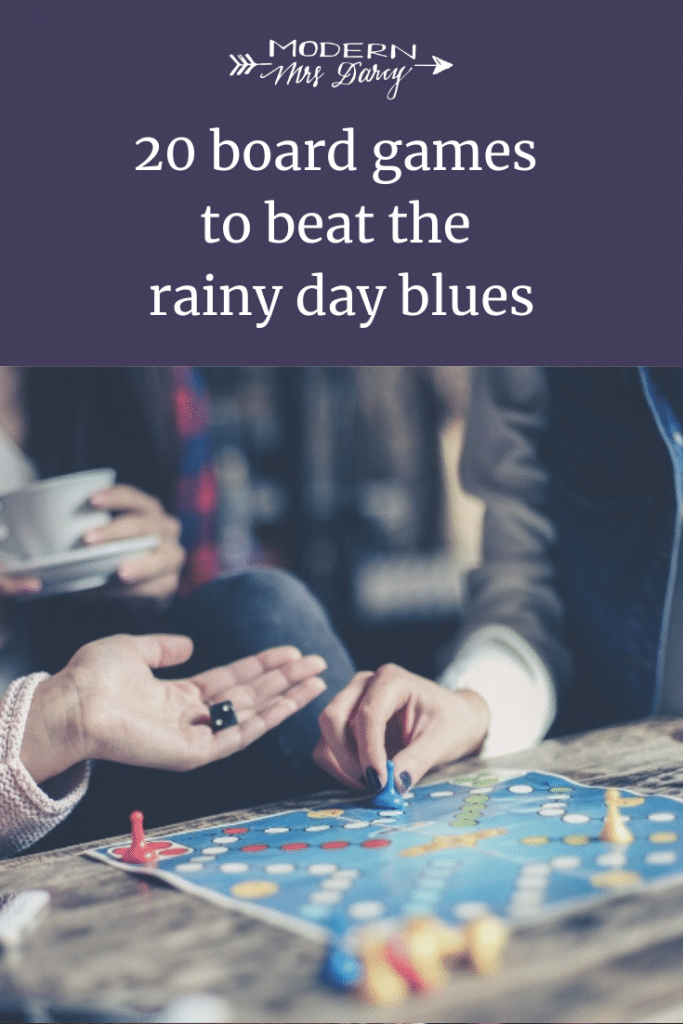 20 board games to beat the rainy day blues