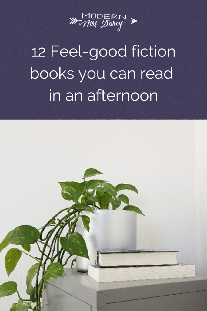 12 Feel-good fiction books you can read in an afternoon