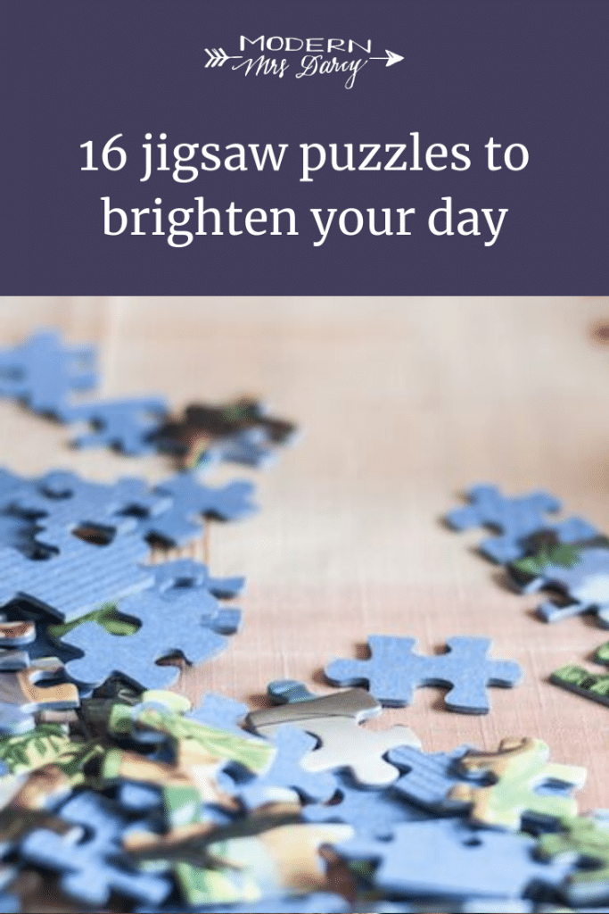 16 jigsaw puzzles to brighten your day