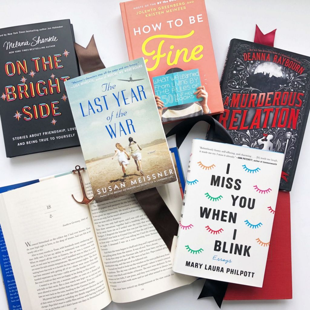 Stay At Home Book Tour week 2 books