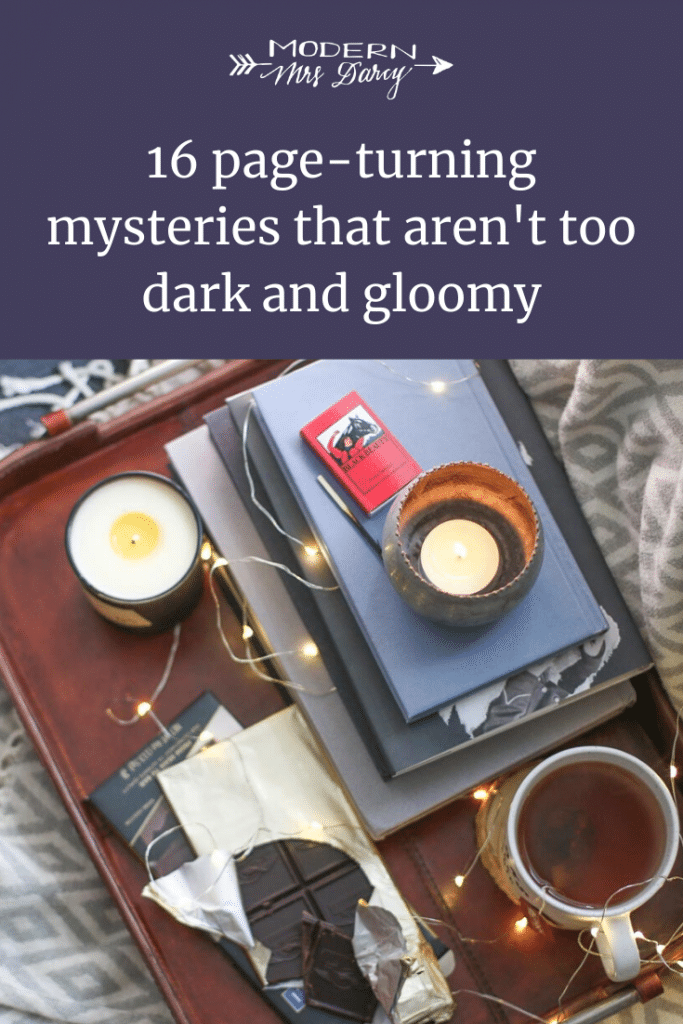 16 page-turning mysteries that aren't too dark and gloomy