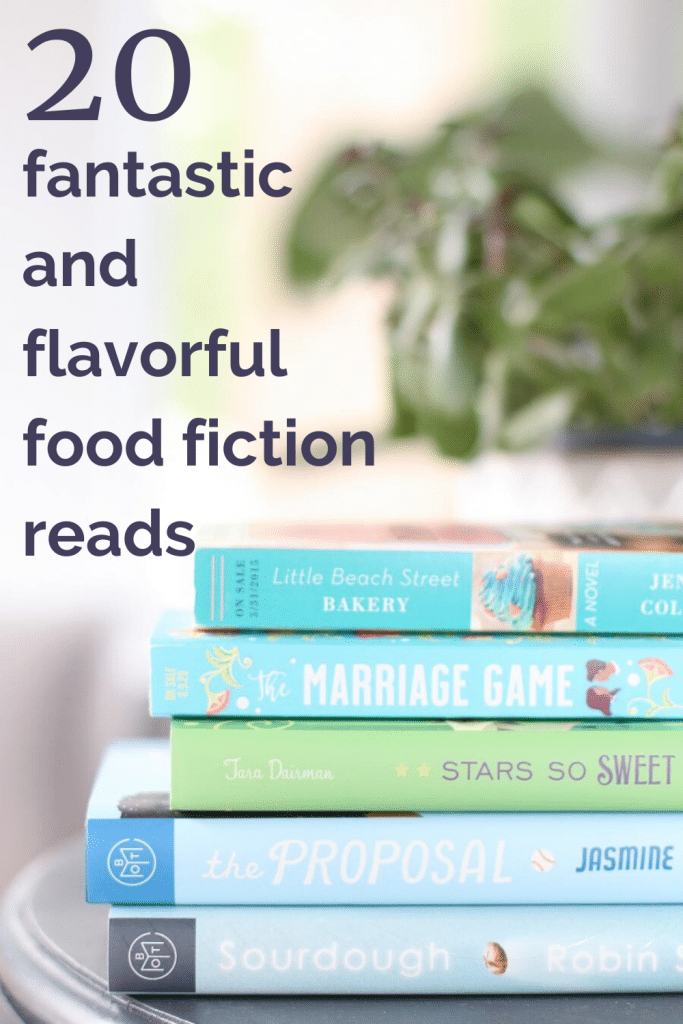 20 fantastic and flavorful food fiction reads