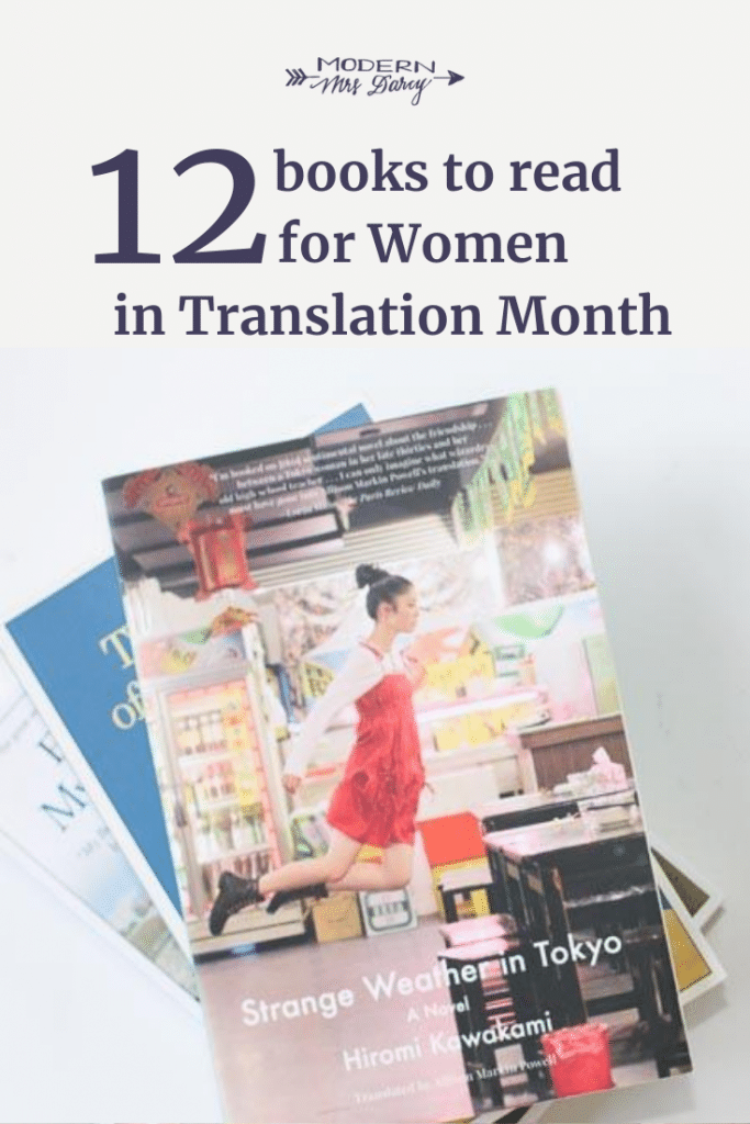 12 books to read for Women in Translation Month