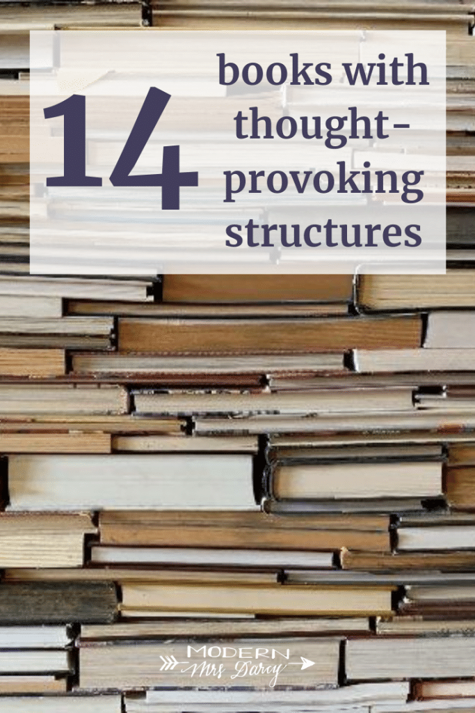 14 books with thought-provoking structures