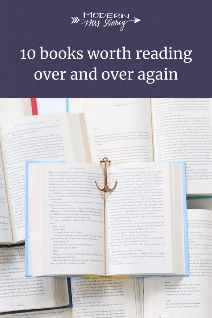 10 books worth reading over and over again