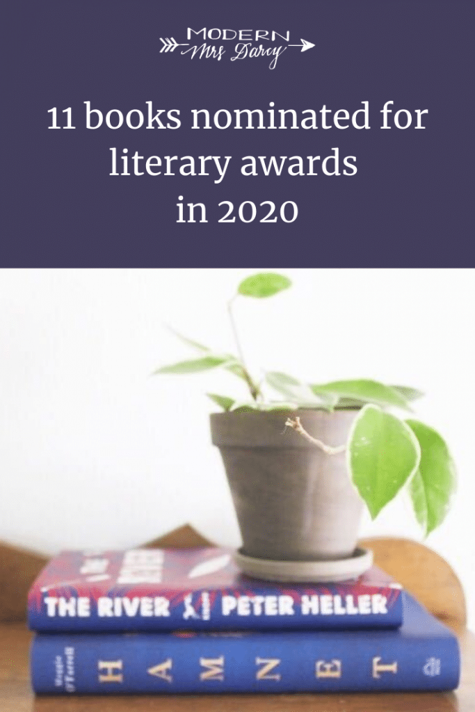 11 books nominated for literary awards in 2020