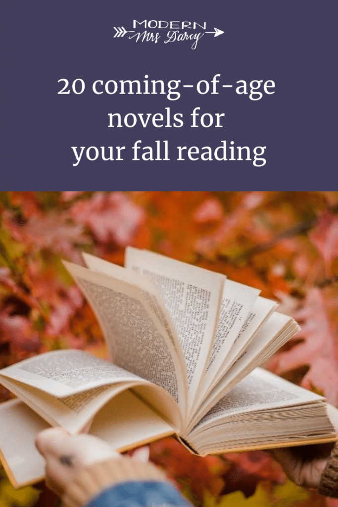 20 coming-of-age novels for your fall reading