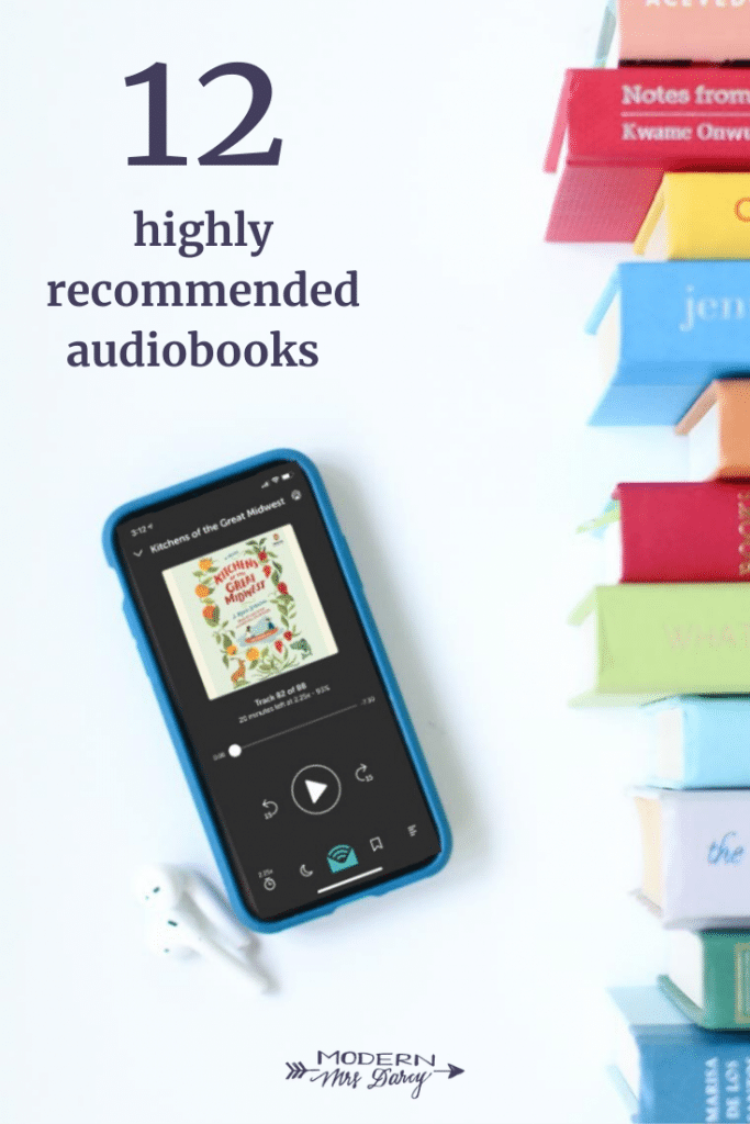 12 highly recommended audiobooks