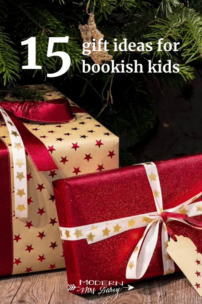 15 gift ideas for bookish kids