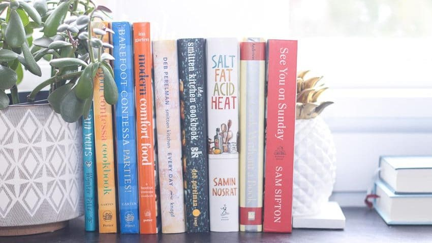 Contemplating a creative challenge (plus 10 shelf-worthy cookbooks)