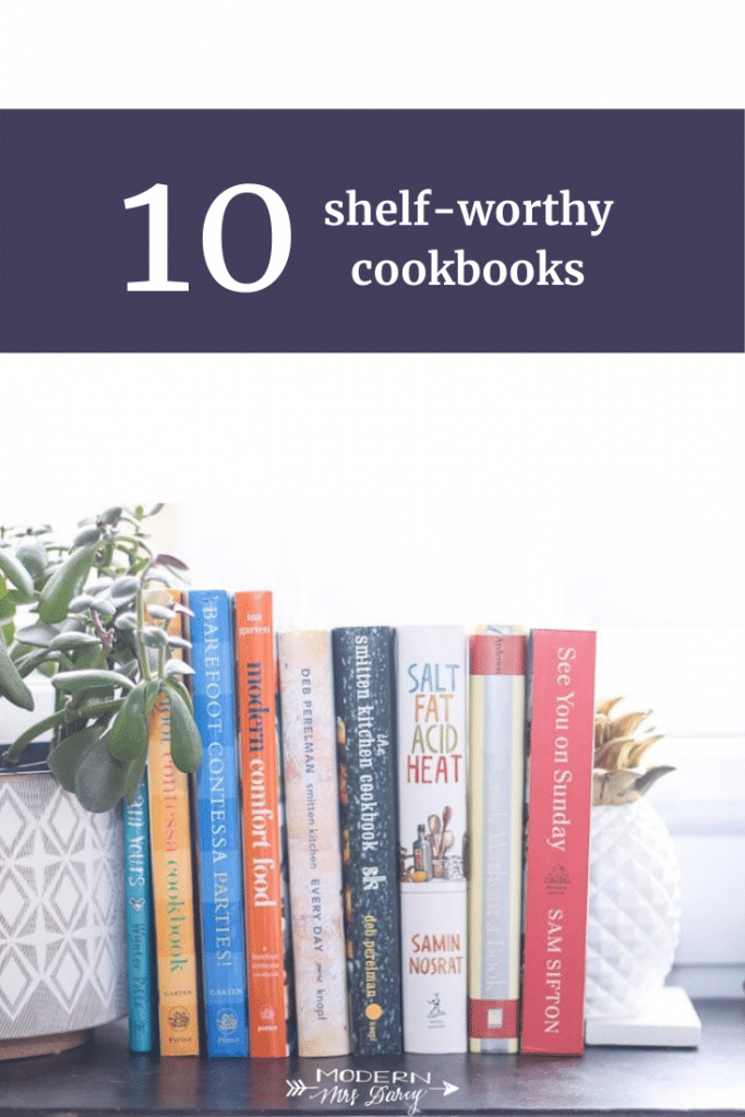 10 shelf-worthy cookbooks