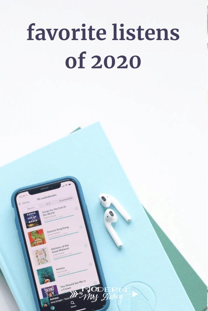 Favorite listens of 2020