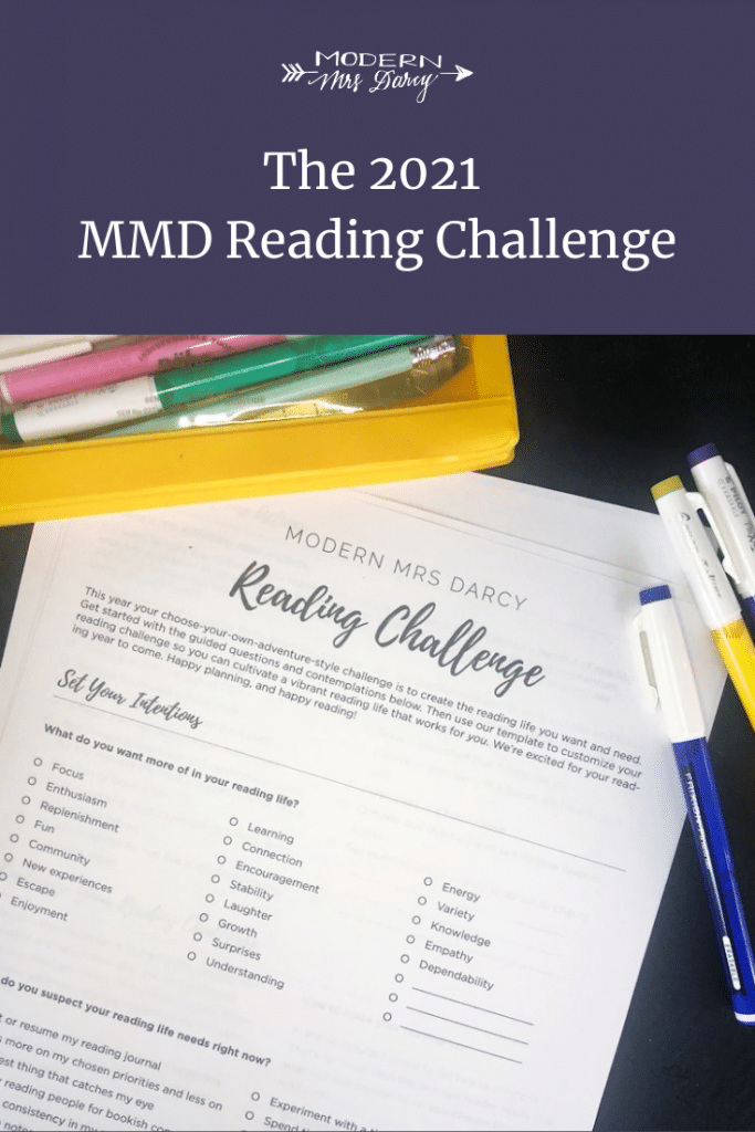 The 2021 MMD Reading Challenge