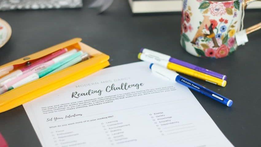 The 2021 Reading Challenge