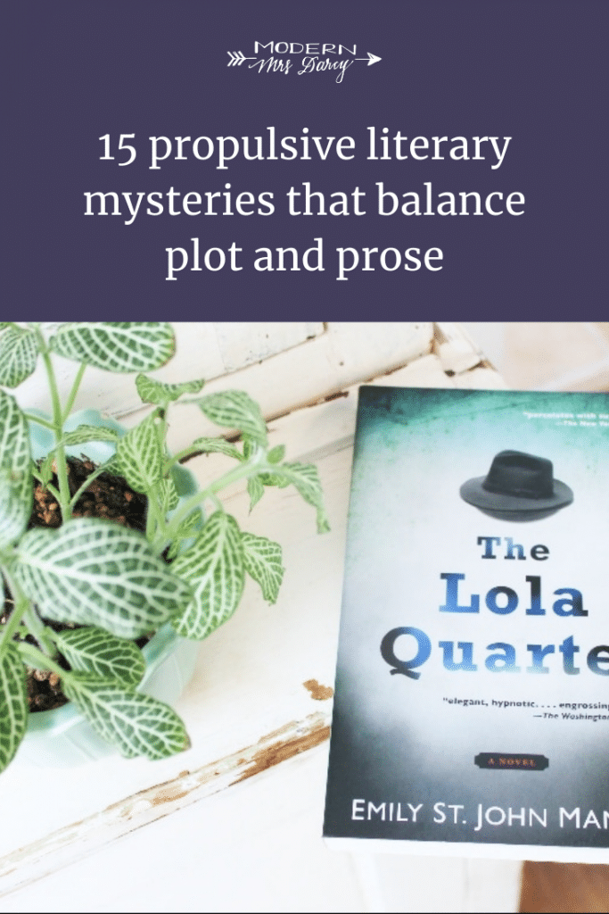15 propulsive literary mysteries that balance plot and prose