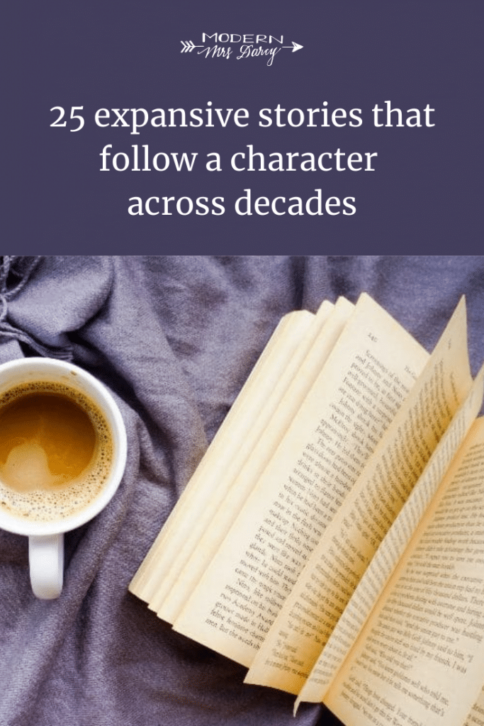 25 expansive stories that follow a character across decades