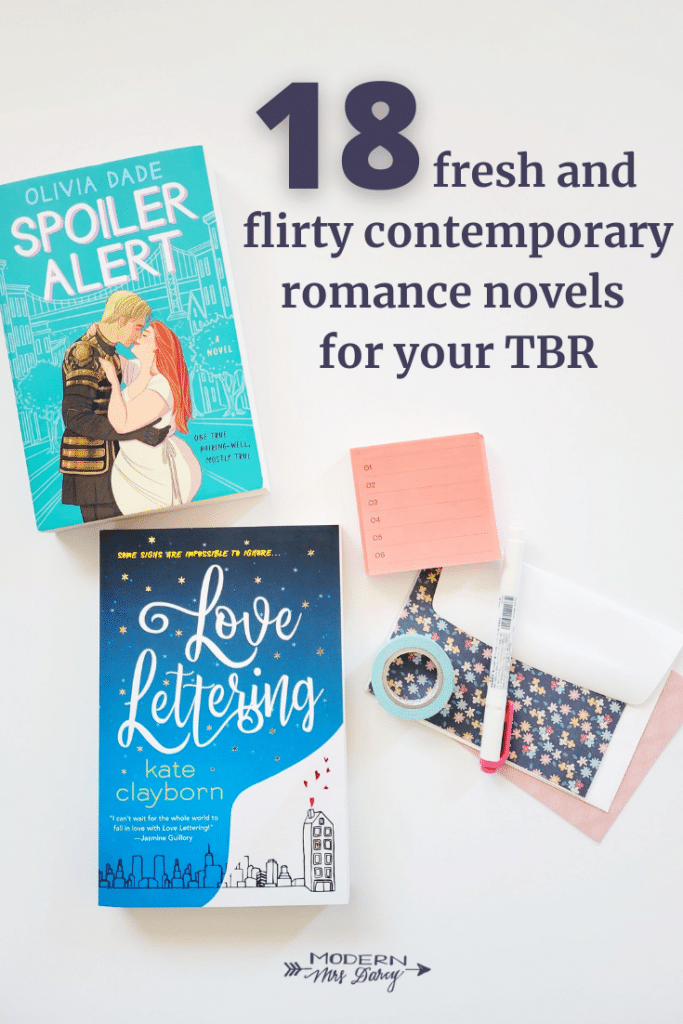 18 fresh and flirty contemporary romance novels for your TBR