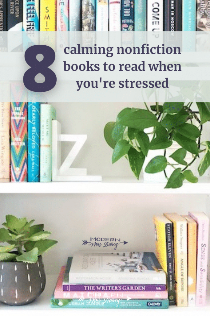 8 calming nonfiction books to read when you're stressed